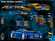 Blue Demon Car Game
