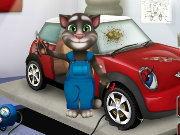 Talking Tom Car Fix Game