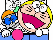Doraemon Nobita And Coloring Game
