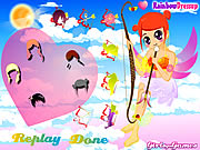 Cupid Girl Dress Up Game