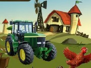 Tractor Jumping Game
