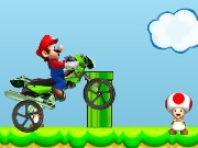 Mario Moto Cross Game