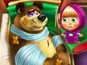 Masha and the Bear Injury Game