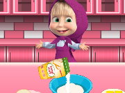 Masha and the Bear Cookie Cooking Game