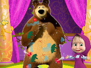 Masha and the Messy Bear Game