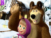 Masha and the Bear Hidden Objects Game