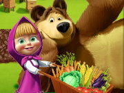 Masha And The Bear Farm Game