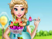 Pregnant Elsa Ice Cream Cravings Game