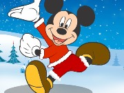 Christmas Mickey Dressup Game