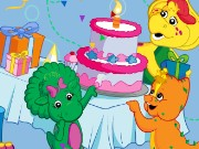 Barney Happy Birthday Game