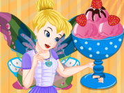 Tinkerbell Special Strawberry Ice Cream Game