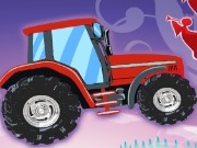 Christmas Tractor Game