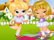 Bratz Hopscotch Game