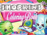 Shopkins Coloring Book Game