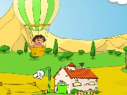 Dora Balloon Express Game