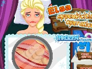 Elsa Appendicitis Operation Game