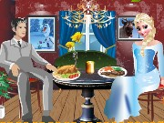 Elsa Romantic Dinner Game