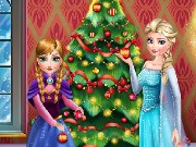 Frozen Perfect Christmas Tree Game