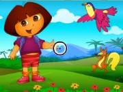 Dora Spot the Difference Game