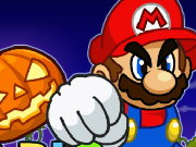 Mario Shoot Pumpkin Game