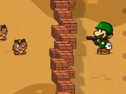 Mario vs Zombie Defense Game