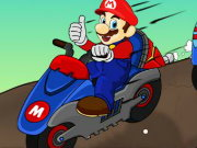 Mario Bike League Game