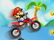 Mario Beach Bike Game