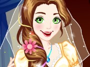 Rapunzel Wedding Dressup Game