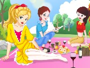 Spring Picnic With Girls Game