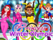 Princess Winter Olympics Game