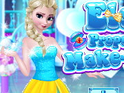 Elsa Proposal Makeover Game