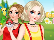 Frozen Sisters Pokemon Go Game