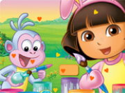 Dora Valentine Hidden Heart Game