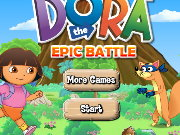 Dora Epic Battle Game