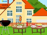 Cooking Burger Make Game