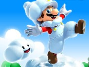 Super Mario Cloud Adventure Game