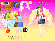 Fashion Angel Dress Up Game