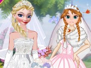 Elsa And Anna Brides Game