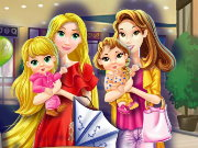 Mommy Princess Go Shopping Game