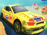 Spongebob Car Racing Game