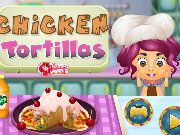 Cooking Chicken Tortillas Game