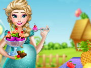Elsa Ice Cream Cravings Game