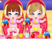 My Newborn Twins Game