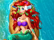 Princess Ariel Heal And Spa Game