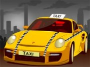Yellow Taxi Cab Parking Game