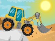 Tractor Desert Racing Game