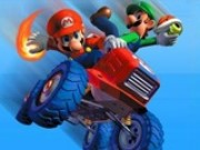 Mario Tractor Race Game