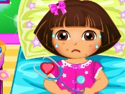 Dora Disease Doctor Care Game