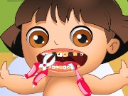 Baby Dora Tooth Problems Game