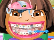 Dora at Dentist Game